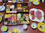 """Traditional Japanese """"osechi"""".  It is eaten all over Japan on New Year's Day."""